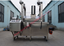 automatic diesel continuous fryer for frying snack food processing line