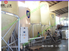 extruded pet food processing line installed in Italy