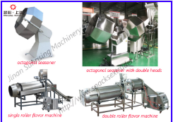 double roller flavoring machiner