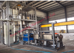 fully automatic soya nuggets making machine
