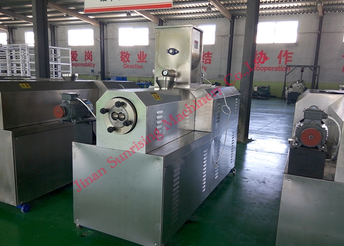CY-70 twin screw extrusion food snacks machine