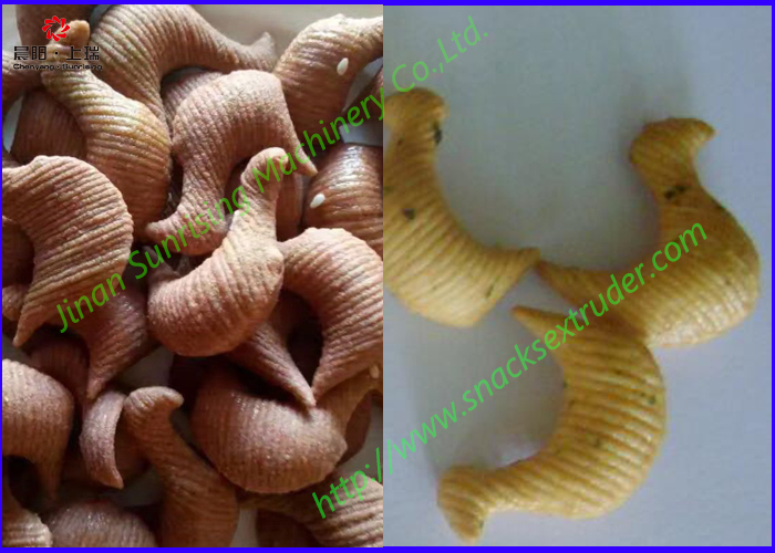 Extruded fried snacks food machine